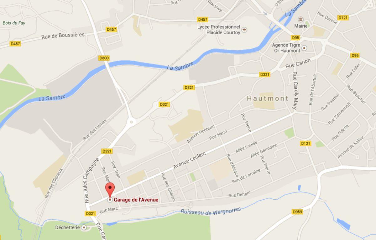 Le garage de l'Avenue à Hautmont (59). – Google Maps