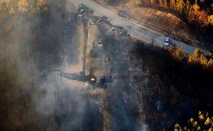 Le plus important oléoduc des Etats-Unis était fermé mercredi 2 novembre 2016 dans l'Etat de l'Alabama, dans le sud du pays, au lendemain d'une explosion, suivie d'un incendie, qui a fait un mort et cinq blessés.