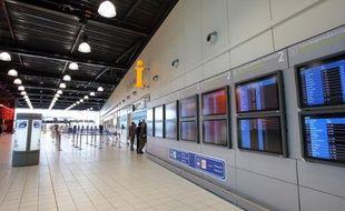 L'aéroport Roissy-Charles-de-Gaulle près de Paris, le 3 septembre 2008
