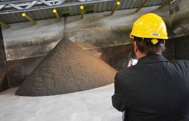 Le nouveau compost fabriqué par l'usine Amétyst à Montpellier.