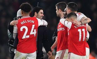 Mikel Arteta a remporté sa première victoire sur le banc d'Arsenal.