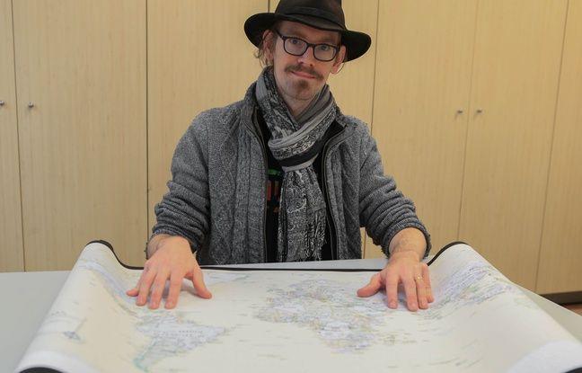 Nathan Kaufmann, géographe. Strasbourg le 28 novembre 2018.