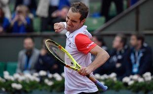Richard Gasquet à Roland-Garros, le 29 mai 2016.
