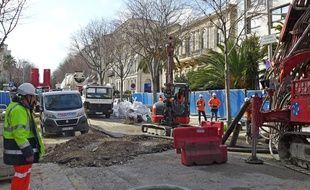 Un chantier d'auscultation a débuté mardi sur le boulevard Victor-Hugo