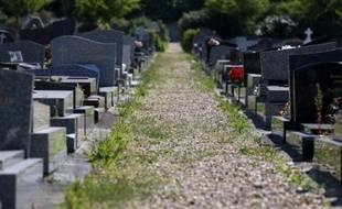Le cimetière des Gonards àVersailles, le 8 juillet 2013