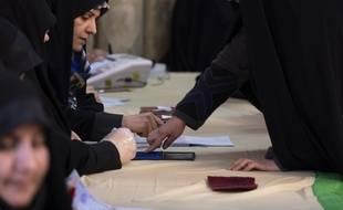 Un bureau de vote à Téhéran le 21 février 2020.