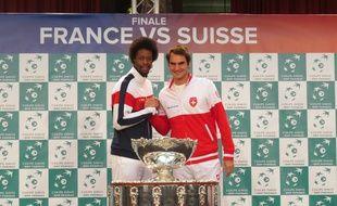 Gaël Monfils r^ve de faire tomber Roger Federer en finale de la coupe Davis