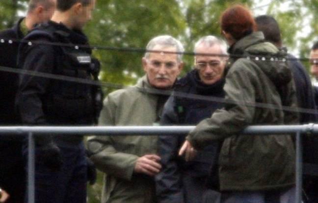 Montigny-lès-Metz, le 3 octobre 2006. Francis Heaulme participe à la reconstitution du double-meurtre des enfants Beining et Beckrich.