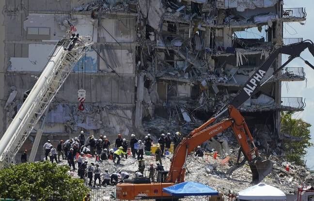 648x415 surfside floride semaine apres effondrement immeuble recherches survivants poursuivent plus plus desesperees