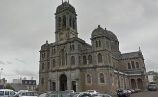 L'église Saint-Paul à Granville, dans la Manche.