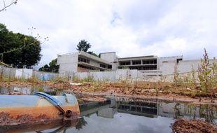 Le chantier d'école à la Courrouze, à Rennes, est arrêté, en raison d'une pollution des sols.