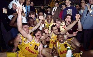 Le CSP Limoges a dignement célébré le vingtième anniversaire de sa victoire en Coupe d'Europe en assurant son maintien grâce à une belle victoire contre le Paris-Levallois 79-61, lundi en match avancé de la 28e journée de Pro A de Basket.