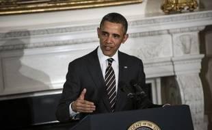 Le président américain Barack Obama a fait monter la pression sur le Congrès lundi, appelant les gouverneurs à la rescousse pour éviter la cure d'austérité, qui prendra automatiquement effet vendredi sauf accord de dernière minute entre démocrates et républicains.