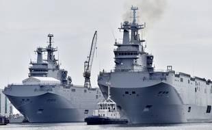 """Les navires """"Gamal Abdel Nasser"""" et """"Anouar el-Sadate"""" ont été construits par STX."""