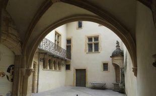 La cour intérieure de la maison du Chamarier à Lyon. C. Girardon / 20 Minutes