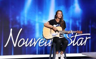 Axelle Garnier, candidate toulousaine à l'émission Nouvelle Star sur D8.
