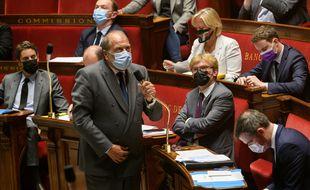 Eric Dupond-Moretti à l'Assemblée.