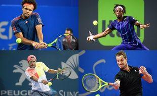 Les quatre meilleurs français sont tous cette semaine à l'Open 13 à Marseille.