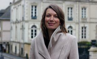Enora Le Pape, tête de liste Rennes en commun (La France Insoumise) aux élections municipales 2020 à Rennes.