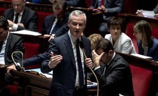 Le ministre de l'Economie Bruno Le Maire à l'Assemblée nationale, le 14 novembre 2018.