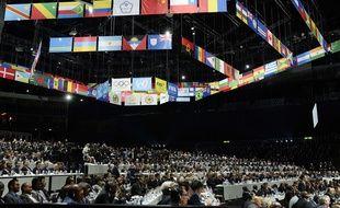 Le Congrès électif de la Fifa, à Zurich le 29 mai 2015.