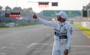 Lewis Hamilton à Melbourne en 2019.