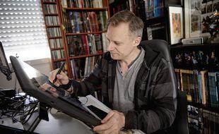 Jean-Luc Istin, dessinateur et scénariste de bande dessinée et directeur de collections aux Éditions Soleil