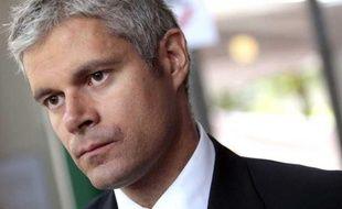 Laurent Wauquiez, le 27 septembre 2012, lors des journées parlementaires à Marcq-en-Baroeul.
