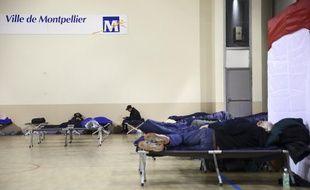 A l'égard des personnes démunies, sans abri, la ville de Montpellier et la préfecture de l'Hérault ont pris des mesures pour faire face a l'épisode de froid qui sévit.