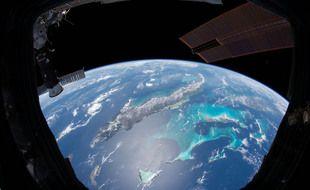 Cuba et les Bahamas vues de la ISS