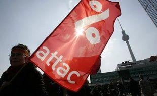 Illustration de l'organisation altermondialiste Attac.
