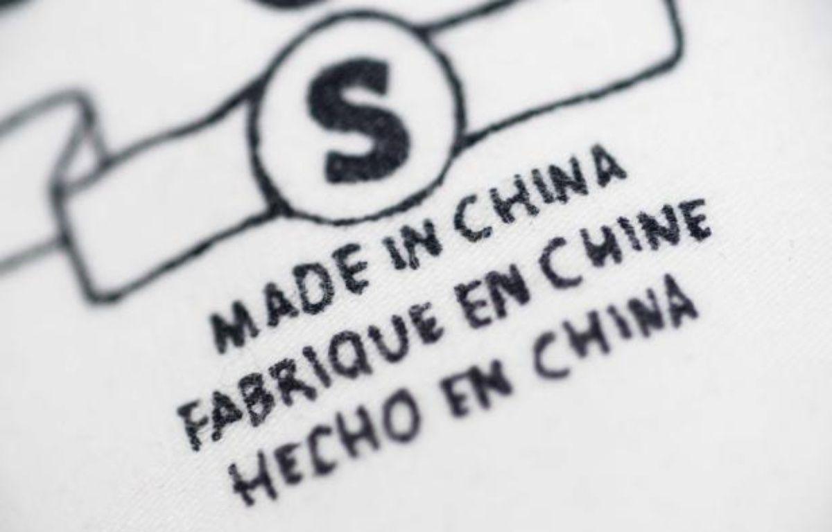 "Illustration : produit ""Made in China"" – SIERAKOWSKI/ISOPIX/SIPA/1209181756"