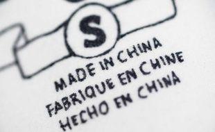 "Illustration : produit ""Made in China"""