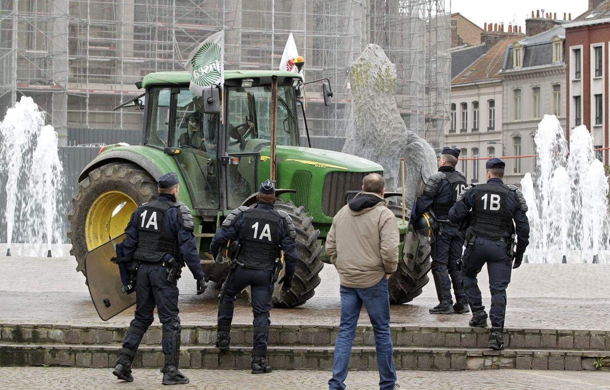 Des agriculteurs manifestent à Lille (illustration). – M.Libert / Archives 20 Minutes