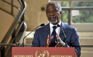 """M. Annan, qui rendait compte à huis clos de sa médiation par vidéoconférence, a averti que sa mission """"n'était pas illimitée dans le temps""""."""