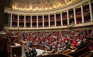 Illustration de l'Assemblée nationale à Paris.