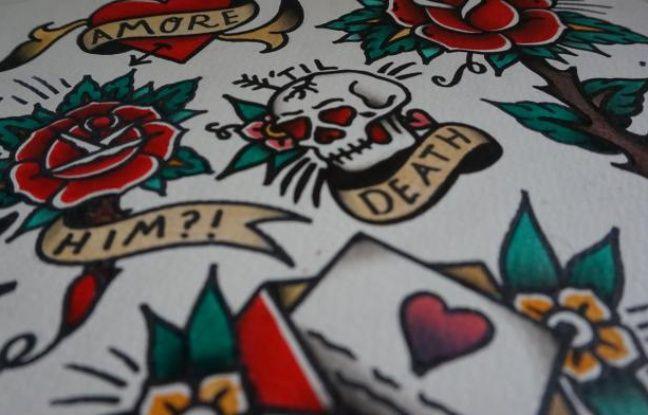 Planches de tatouages vintage