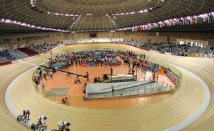 Illustration d'un vélodrome. Ici celui de Laoshan, à Pékin.