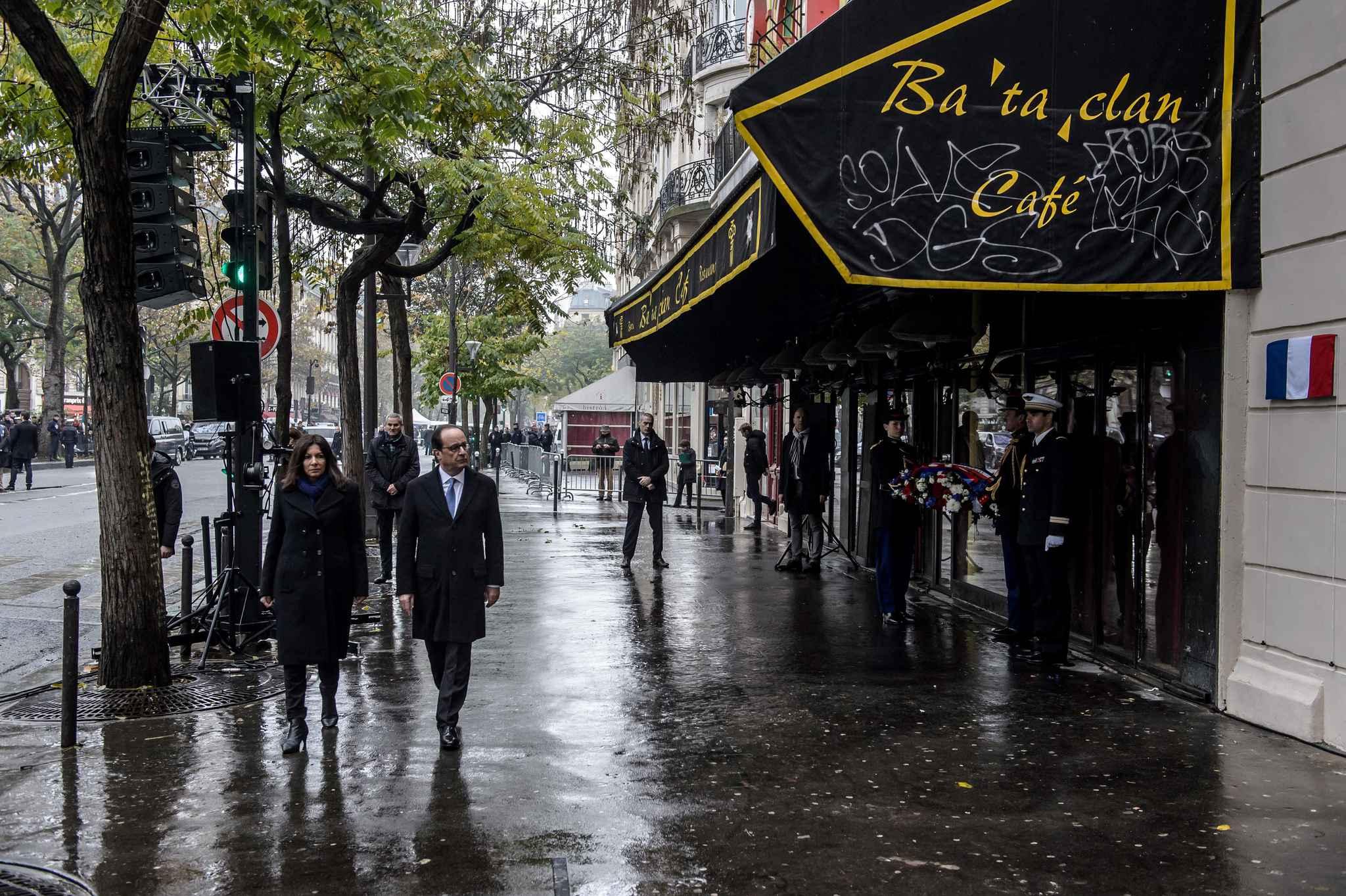 François Hollande est revenu au Bataclan assister à un spectacle comique