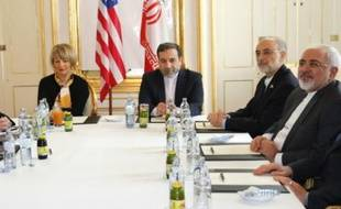 Table de négociations entre Américains et Iraniens sur le nucléaire, le 30 juin 2015