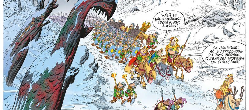 case extraite de la BD Astérix et le Griffon
