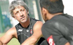 Vainqueur de la Coupe de France avec le Gym en 1997, Bruno Valencony est coach depuis 2006.