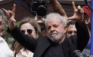 L'ancien président du Brésil, Lula.