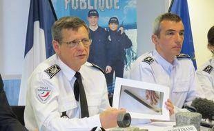 Le directeur départemental de la sécurité publique Jean-Christophe Bertrand.