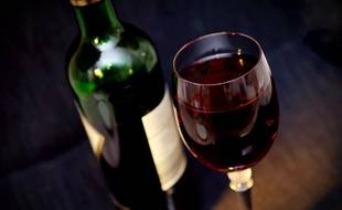 Du vin (image d'illustration).
