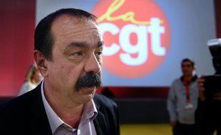 Philippe Martinez (CGT) le 22 avril 2016 à Marseille