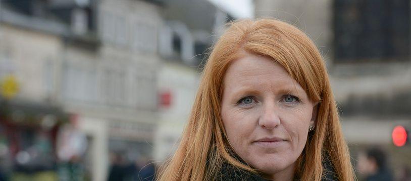 Ingrid Levavasseur, figure des «gilets jaunes», photographiée le 15 janvier 2019.