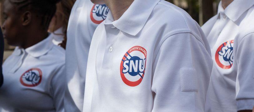 Des jeunes participant au SNU en 2019.