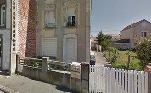 La maison où a eu lieu le crime, à Berck-sur-Mer.