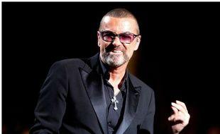George Michael en 2012 à un gala de charité contre le Sida.